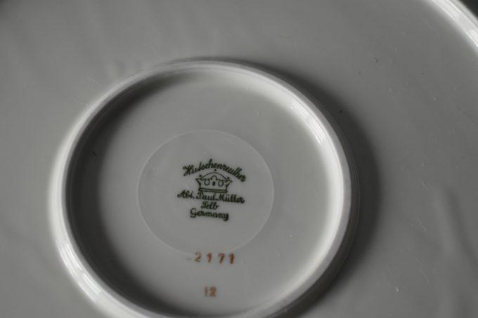 porcelanowa patera vintage