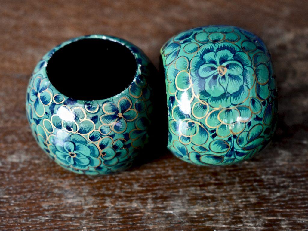 dekoracyjne vintage obrączki na serwety