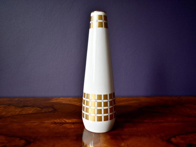 porcelana vintage wazon mid century dodatki do wnętrz selekcja