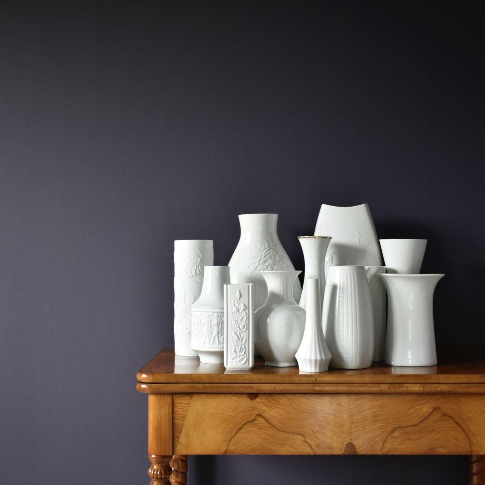 Porcelana biała vintage wzony i inne dodatki do wnętrz