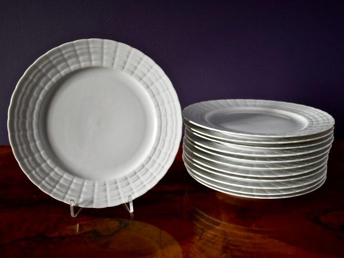 Komplet talerzy porcelanowych vintage Hutschenreuther