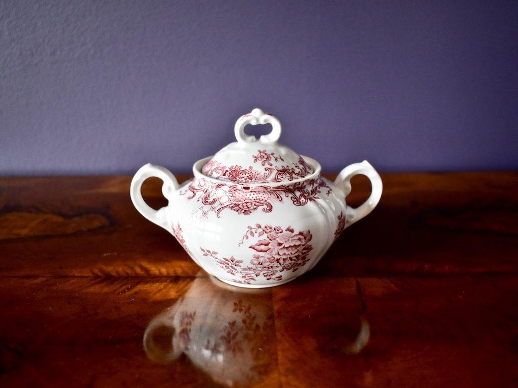 porcelanowa cukierniczka naczynia Villeroy & Boch vintage