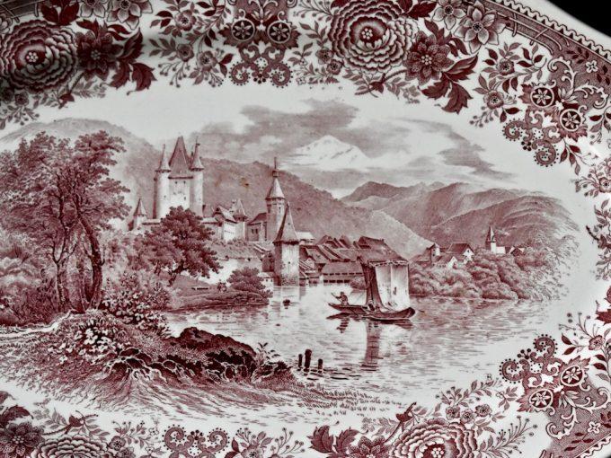 Villeroy & Boch seria Burgenland czerwony retro boho rustykalnie