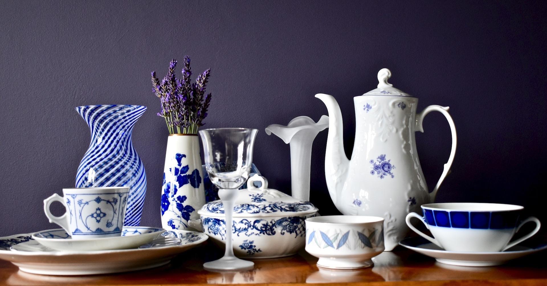 Najpiękniejsza porcelana i naczynia oraz dodatki vintage
