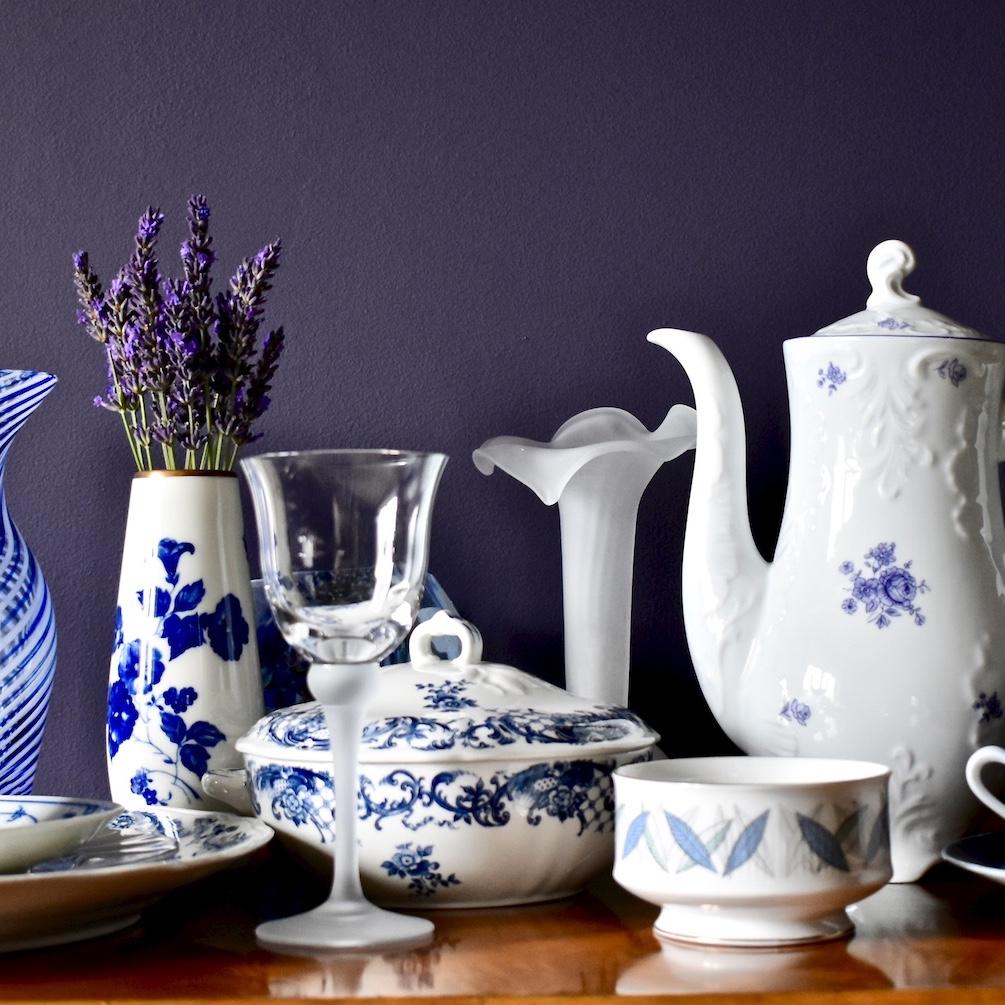 porcelana naczynia dekoracje wnętrza