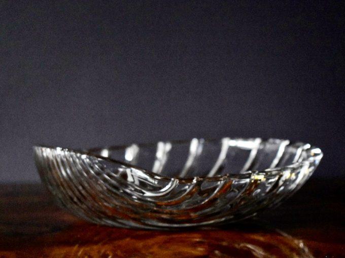 Szklana misa muszla