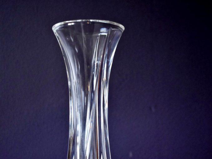 Kryształowy wazonik