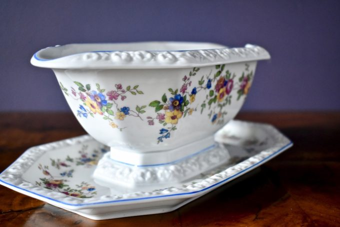 Dekoracyjna sosjerka porcelanowa Rosenthal