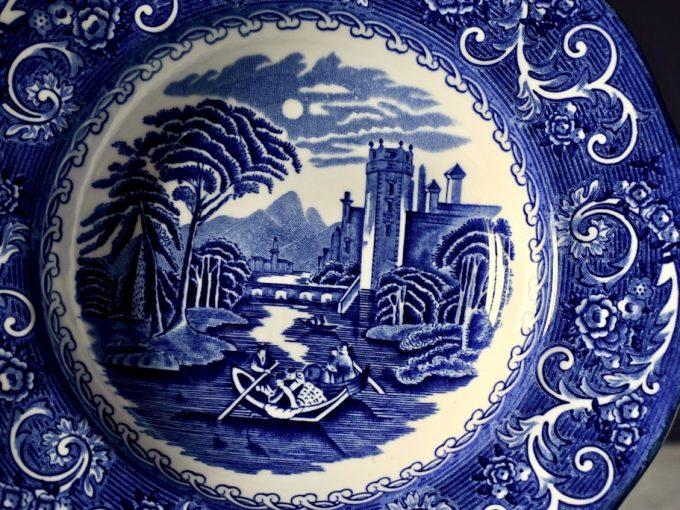 Talerze porcelanowe Enoch Wedgewood