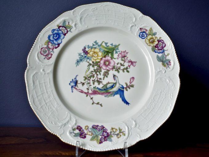 Porcelanowy talerz dekoracyjny Rosenthal Sansoucci