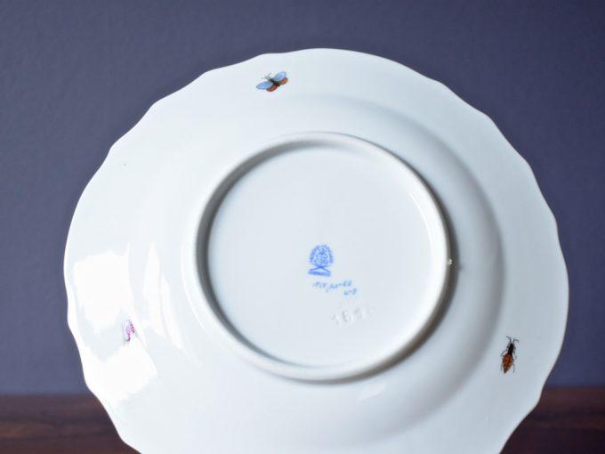 talerz porcelanowy dekoracyjny