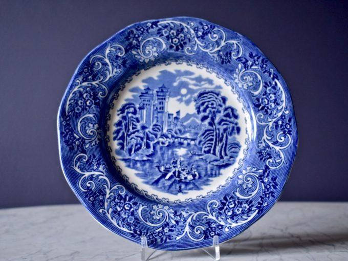 talerz płaski Enoch Wedgewood porcelanowy