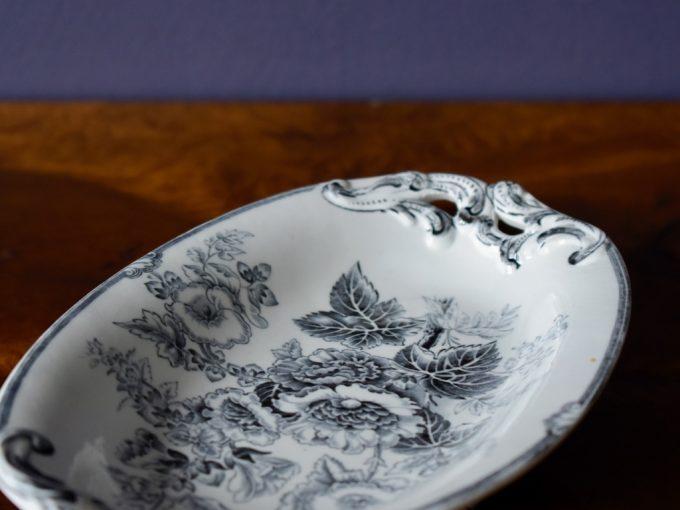 mały półmisek porcelanowy