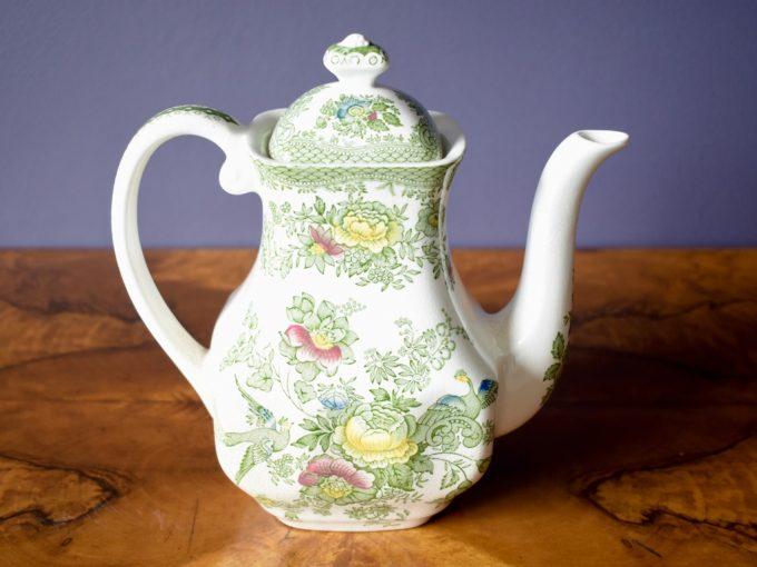 angielska porcelana Enocho Wedgewood dzbanek imbryk herbata kawa