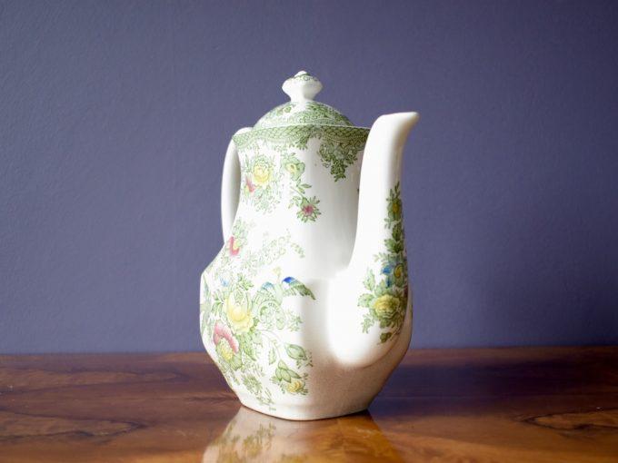 angielska porcelana Enoch Wedgewood dzbanek imbryk herbata kawa