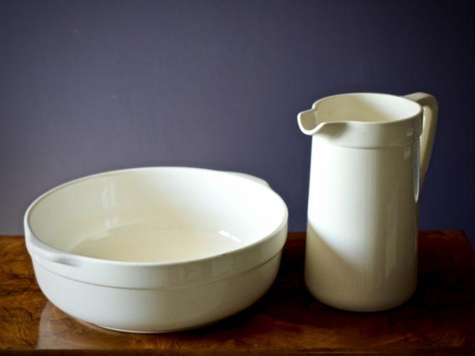 dzban i misa porcelanowe