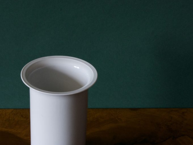 Biały Wazon porcelanowy