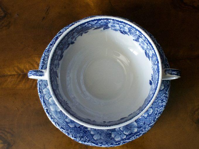 Porcelanowe bulionówki Enoch Wedgwood