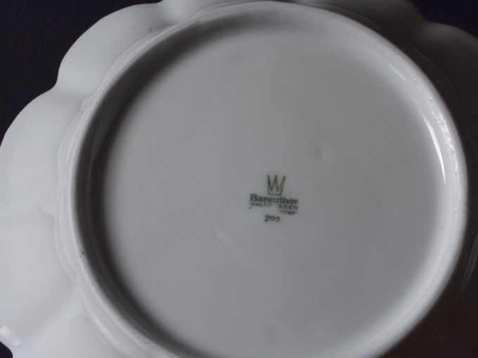 porcelanowa miska Bareuther