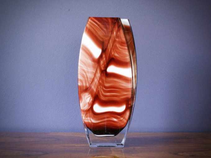 wazon szkło artystyczne