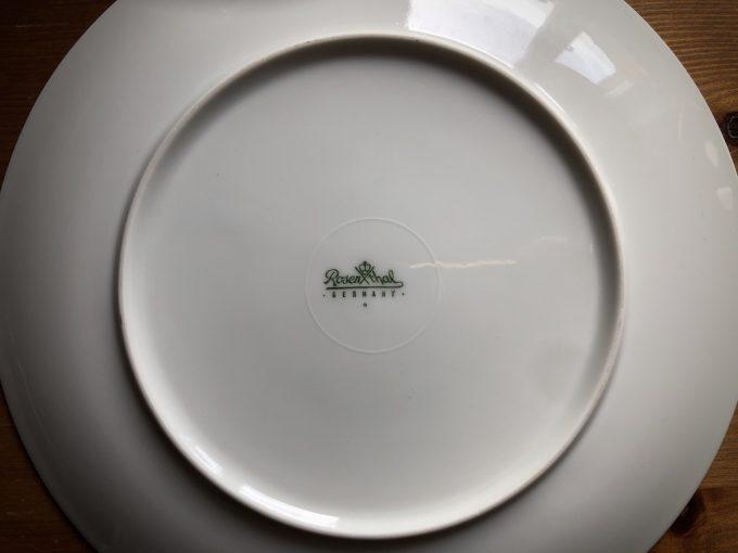 talerz porcelanowy Rosenthal