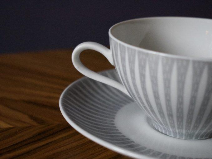 dekoracyjna porcelanowa filiżanka