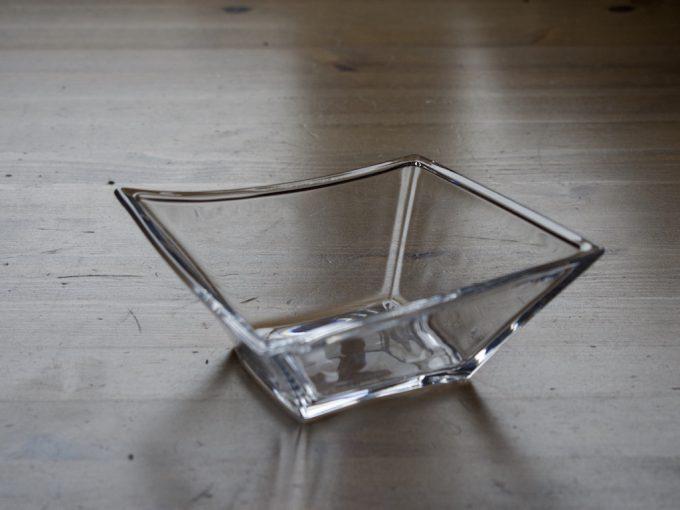 komplet szklanych salaterek