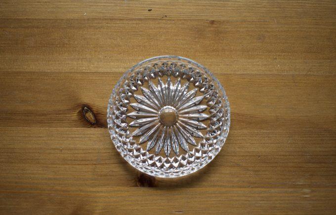 szklane konfiturówki podstawki talerzyki