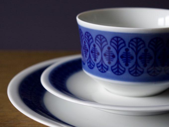 porcelanowe trio śniadaniowe Arzberg
