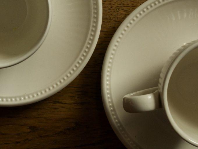 duet filiżanek porcelanowych