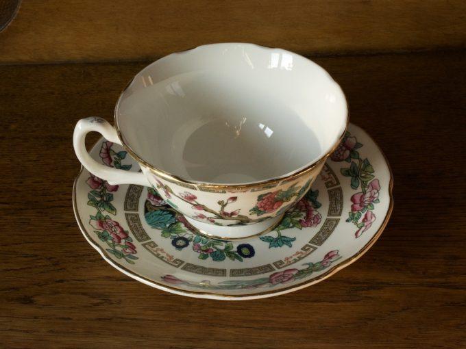 dekoracyjna filiżanka porcelanowa