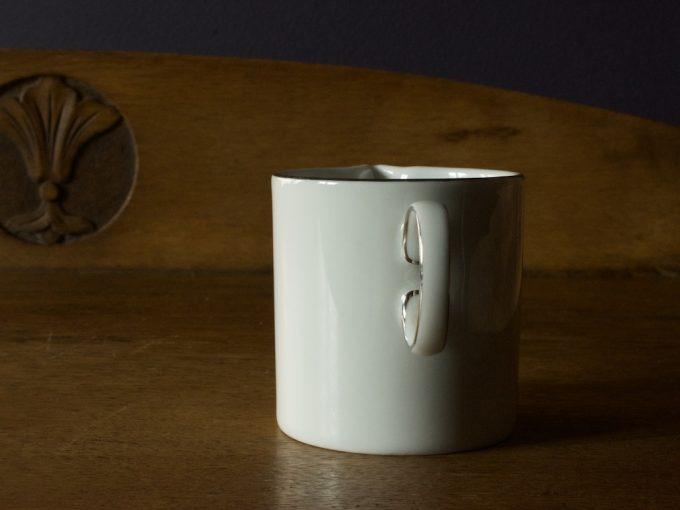 porcelanowy mlecznik