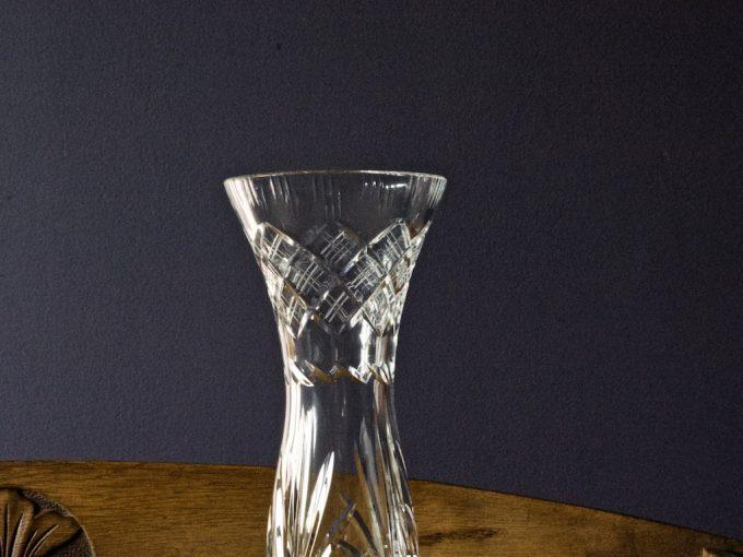 dekoracyjny wazon kryształowy