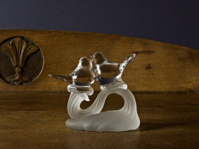szklana figurka dekoracja