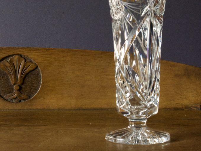 kryształowy wazon dekoracyjny