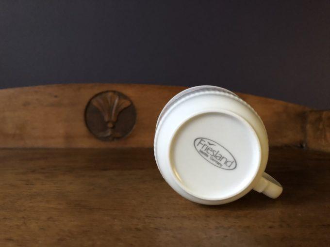 komplet porcelanowy dzbanek i filiżanki