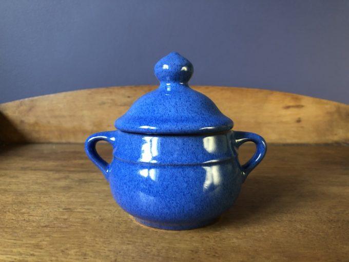 ceramika cukierniczka pojemnik Melitta niebieski