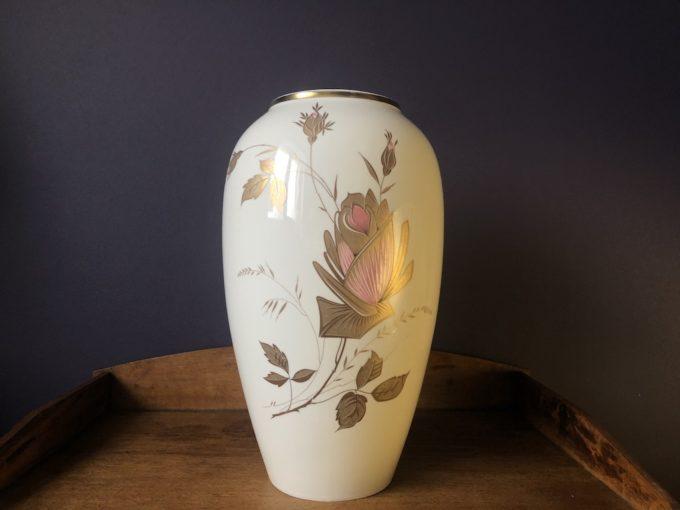 Duży dekoracyjny wazon porcelanowy