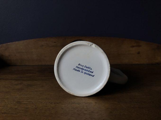 Fajansowy kufel Delfts blue
