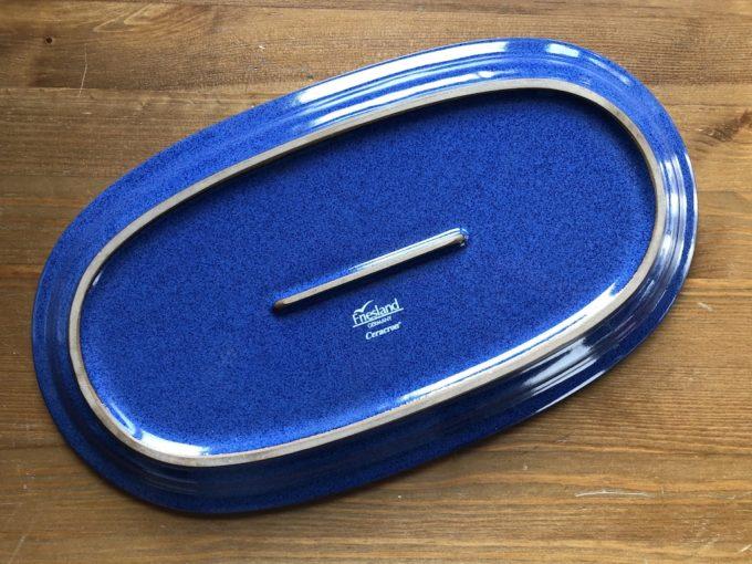 niebieski półmisek ceramiczny Friesland