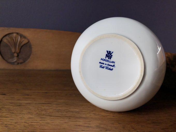 wazon echt kobalt WMF Porzellan