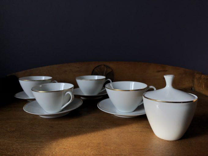 zestaw porcelanowy do kawy i herbaty Arzberg