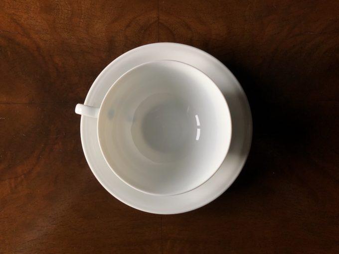 biała porcelanowa filiżanka Hutschenreuther