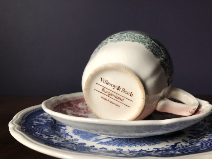 porcelanowe trio śniadaniowe Villeroy & Boch