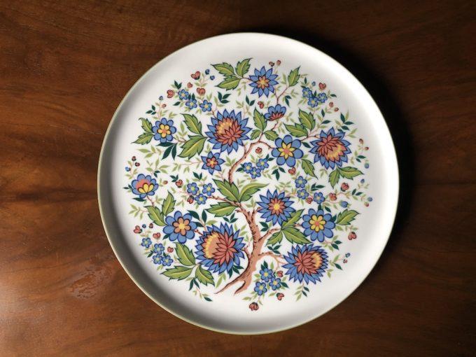 porcelanowa patera Melitta wzór roślinny