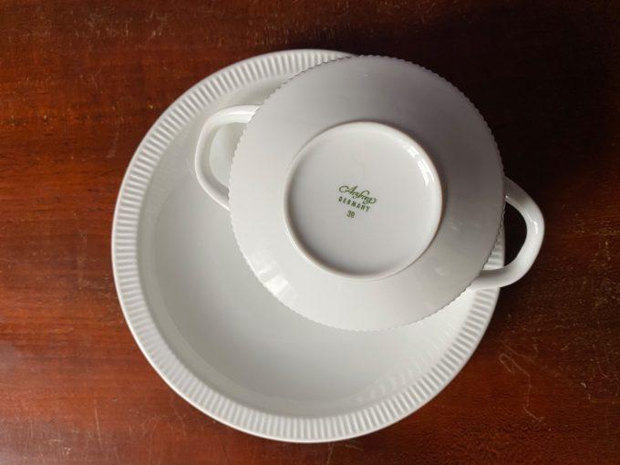 porcelanowa bulionówka