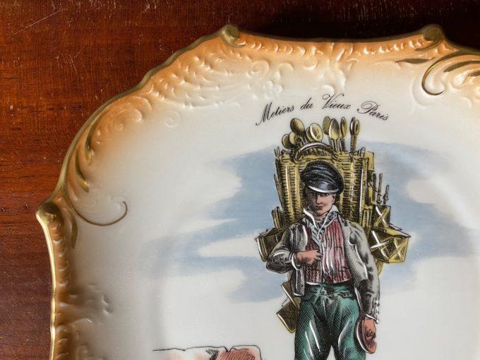 dekoracyjna paterka porcelanowa Limoges