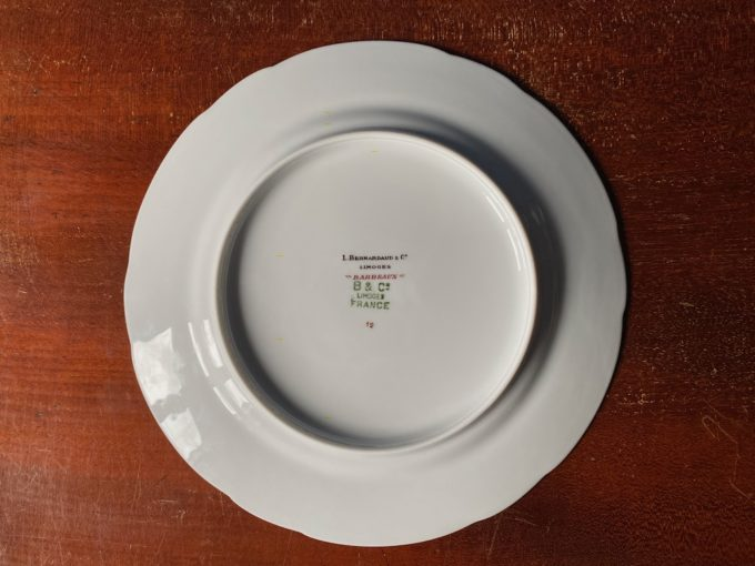 talerz porcelanowy Limoges