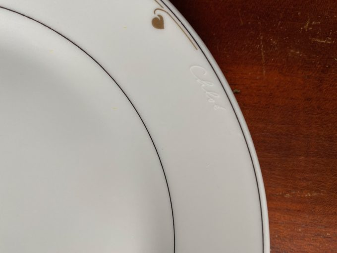 komplet talerzy porcelanowych Hutschenreuther Chloe