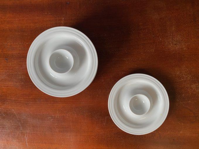 komplet porcelanowych jajcarek Thomas